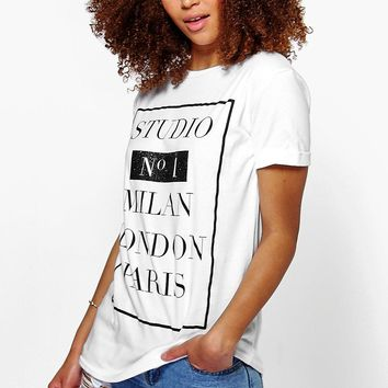 Emma Studio No1 Printed Tee
