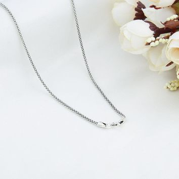 V.Ya Thai Sterling Silver Men's Thick Chain Necklace