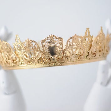 SYBIL: Gold Filigree Coronet/Crown