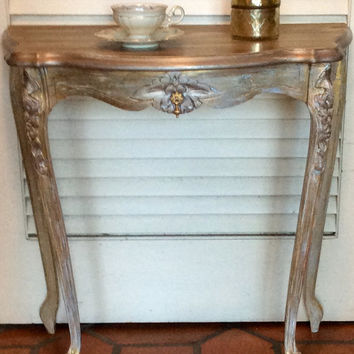 Vintage Shabby Chic French Style Table
