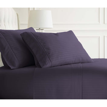 Michael Anthony Striped 4 Pc Queen Sheet Set