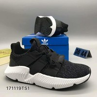 adidas originals prophere Fashion Women/Men Casual Running Sport Shoes Black G-CSXY