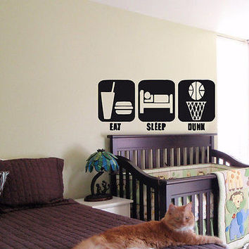 KIDS WALL ART STICKER BABY ROOM NURSERY BOY GIRL BEDROOM FUNNY LOGOS SPORT 005
