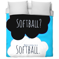 Softball bed covers 🍭