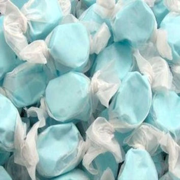COTTON CANDY Flavor Salt Water Taffy - 1 Pound - Approx. 65 Pieces - Birthday Holiday Mitzvah Wedding Candy Buffet