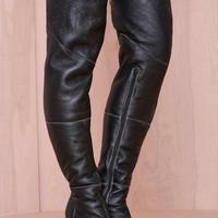 Jeffrey Campbell Buckman Leather Boot