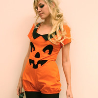 Made to Order Pumpkin Playsuit
