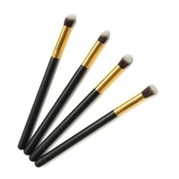BESTOPE® Professional 4 pcs Glod Eye Brushes set Eyeshadow Blending Pencil Brush Make up Tool Cosmetic