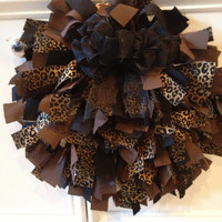 Cheetah Print Wreath