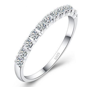 Women's Simulated Diamond Engagement Ring