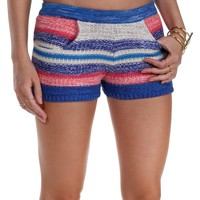 Sale-blue Party Crasher Shorts