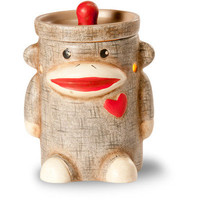 ScentSationals Mini Warmer Sock Monkey Works with Scentsy Bars & Wax Tarts Cubes