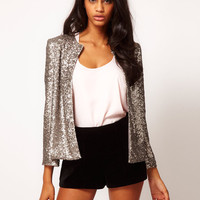 Landry Sequin Jacket