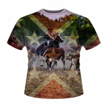 This Ain't My First Rodeo All Over T-Shirt by Dixie Outfitters®