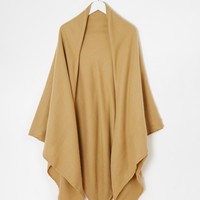 ASOS Plain Oversized Scarf With Blanket Stitch