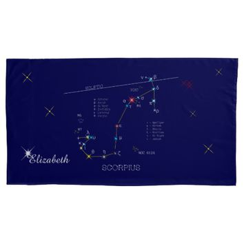 Constellation SCORPIUS unique, impressive Pillow Case