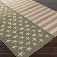 Washington American Flag Rug (WAS5002-23) 2' x 3'