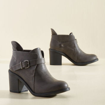 Let's Walk and Roll Bootie | Mod Retro Vintage Boots | ModCloth.com