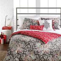 Sunset and Vines Capri 5 Piece Comforter and Duvet Cover Sets - Duvet Covers - Bed & Bath - Macy's