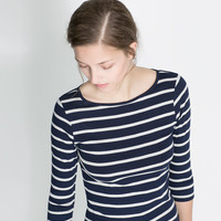 ORGANIC COTTON T - SHIRT - T - shirts - WOMAN | ZARA United States