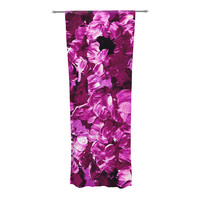 "Ebi Emporium ""Floral Fantasy III"" Sheer Curtain - Outlet Item"