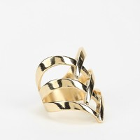 Triple V Statement Ring - Urban Outfitters
