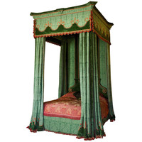 Imposing 17th Century Style Four Poster Bed