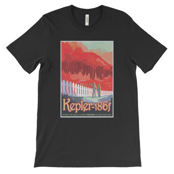 Kepler-186f T-Shirt from NASA's Visions of the Future