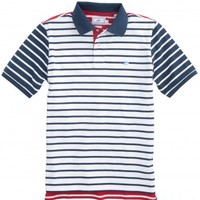 INDEPENDENCE DAY STRIPED POLOStyle: 1479