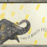 Sugarboo Designs 'Life Is Beautiful' Wall Art