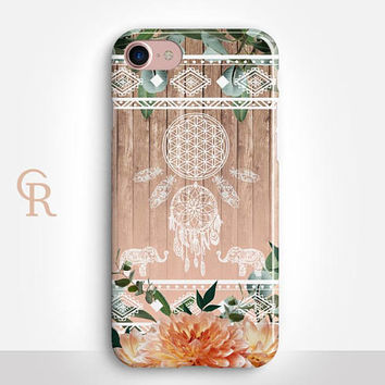 Tribal Phone Case For iPhone 8 iPhone 8 Plus - iPhone X - iPhone 7 Plus - iPhone 6 - iPhone 6S - iPhone SE - Samsung S8 - iPhone 5 iPhone 6S