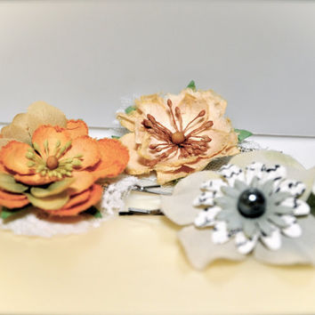 Harvest petals bobby pins Hair accessories for a by TutusChic
