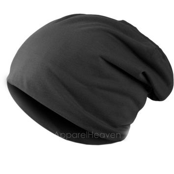 New Solid Color Unisex Hip-hop Cap Beanie Hat Winter Slouch 9 Colors One Size Elastic AP = 1645858692