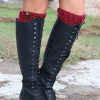 Very Volatile Make You Mine Black Lace Up Riding Boot