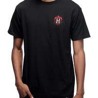 HUF x Thrasher TDS Black T-Shirt