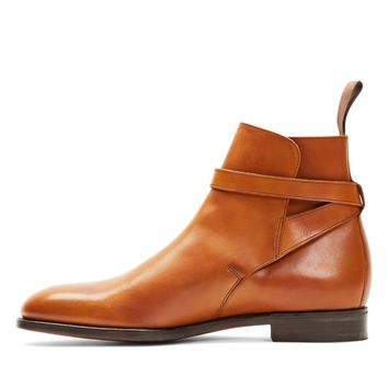 Wakeby Wolf Finesse Brown Single Monk Genuine Leather Boots