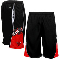 Chicago Bulls Zipway Eraser Shorts – Black