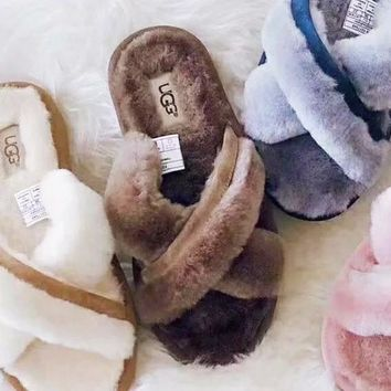 UGG New Warmth slippers women's sandals shoes