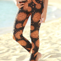 Gypsy Sun & Moon Leggings