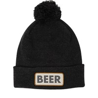 Coal Vice Beanie - Mens Hats - Black - One