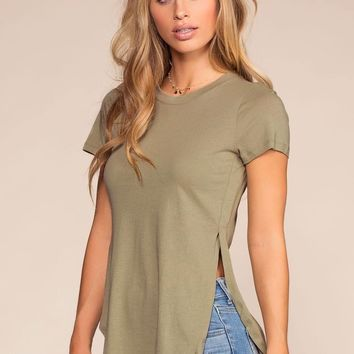 Easy Goes It Top - Lt. Olive