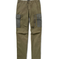 Beams Plus Relaxed-Fit Panelled Cotton-Blend Cargo Trousers | MR PORTER