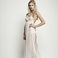 Ell & Cee Goddess Maxi Dress - Nightwear from Glamorous Amorous UK