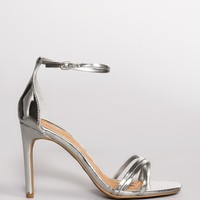 Timeless Heels - Metallic Silver