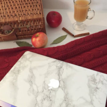 The ORIGINAL Marble MacBook Skin Bestselling by MarbleDecals