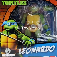 S.H. Figuarts Leonardo Teenage Mutant Ninja Turtles Action Figure IN STOCK USA