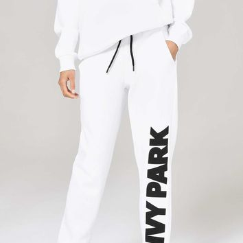 Chenille Logo Jogger by Ivy Park | Topshop