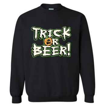 Trick Or Beer Halloween Sweater