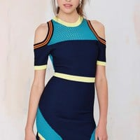 Nasty Gal Good Sport Cutout Dress