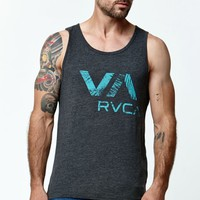 RVCA Camp Palms Tank Top - Mens Tee - Black